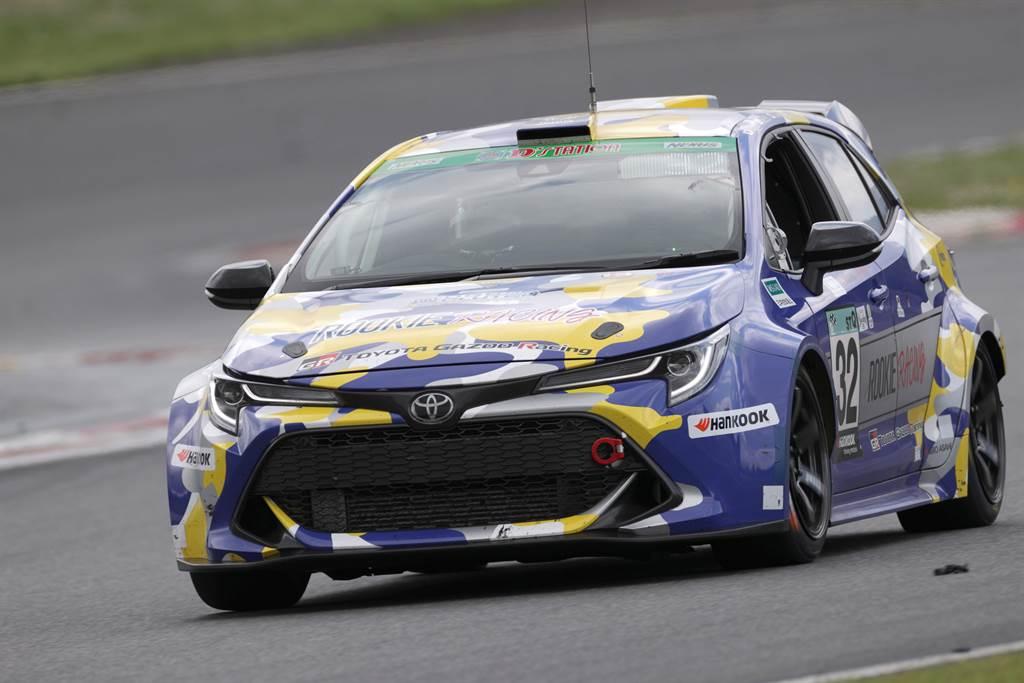 Toyota今年以Corolla Sport推出的氫燃料賽車,Mazda也有參與研發(圖/Toyota官網)