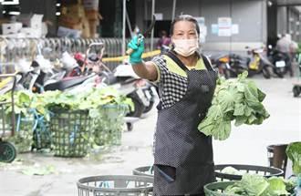 大台北蔬菜每公斤跌3.4元 水果漲3.4元