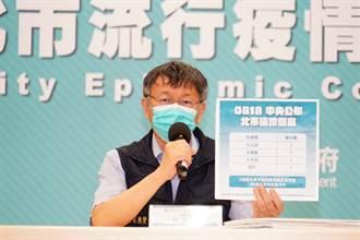 蘇貞昌見8警察局長遭批「抓主導權」 柯文哲酸:關係錯綜複雜