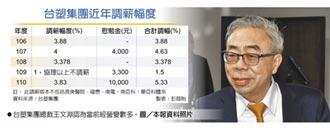 近五年新高 台塑調薪3.83%+萬元慰勉金