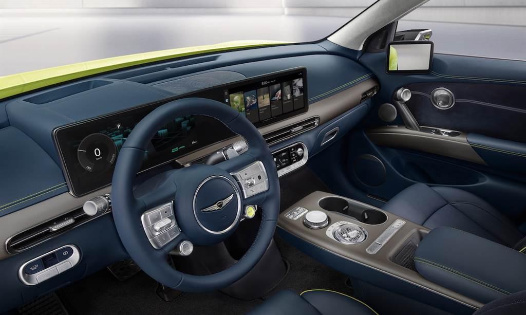 品牌首款E-GMP平台電動車 GENESIS GV60預告出爐(圖/CarStuff)