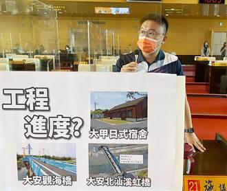 原物料大漲、缺工工程進度恐延宕  中市議員要求建設局抓緊進度