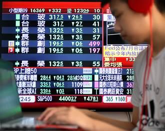 全盤皆墨 台股暴跌450點 指數收近3個新低