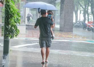 強降雨開炸 北北基等12縣市大雨 一路下到晚上
