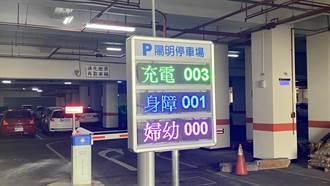 台中公有停車場剩餘車位偵測 僅限專用車格挨批「做半套」