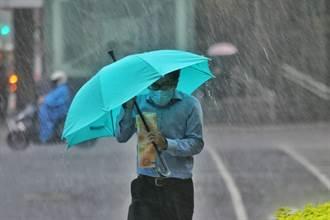 全台17縣市豪大雨狂炸 這區閃電訊號超可怕