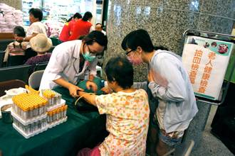 新竹縣老人免費健檢開跑 65歲以上長者即日起可預約
