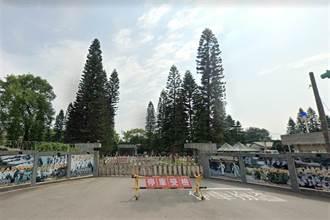 陸軍六軍團戰車衝落邊坡 車內2人急撤離 營舍遭撞出大洞