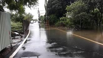 台中外埔水美逢豪雨必淹 吳敏濟要求市府速改善
