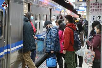 台鐵中秋連假火車票今開賣 已售出19萬張