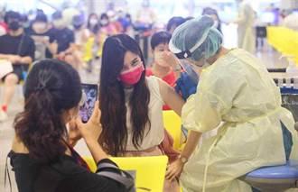颱風影響疫苗打氣 昨接種12萬人 暴跌19萬人次