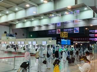 疫情受困台灣周邊海域 政府專案協助105名印尼籍船員返國