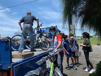 基金會展愛心 捐贈200輛單車給雲嘉南家扶兒