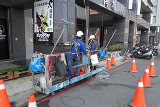 新建大樓赫見清潔工洗外牆 無安全防護雇主最高可罰30萬