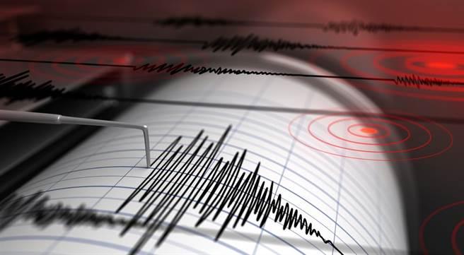位於南大西洋的英國海外領土─南桑威奇群島(South Sandwich Islands)區域今天發生規模7.2地震。(圖為地震示意圖,達志影像/shutterstock提供)