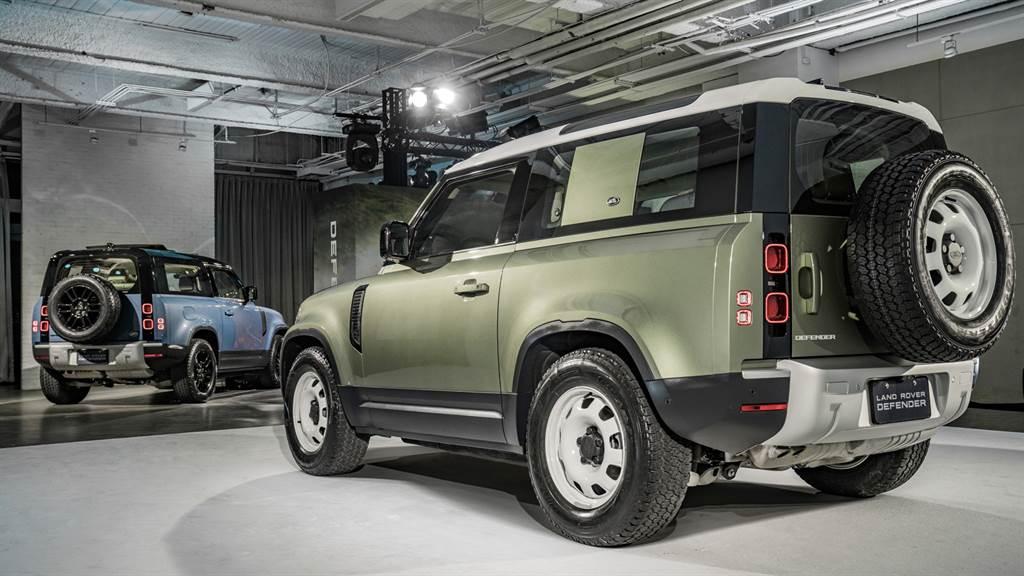 Land Rover Defender全球熱銷,再加上車用晶片供給依舊吃緊,候車期預估一年以上。(圖/業者提供)