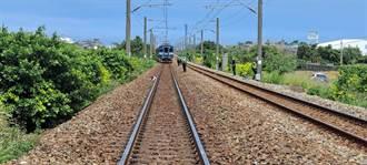 台鐵苑裡段行人闖高架鐵道 慘遭區間車撞上身亡