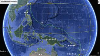 翻車魚7千公里跨赤道 資料搜集量創單隻最高紀錄