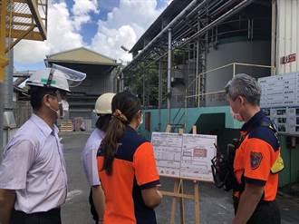 化工廠火警頻傳 台南消防局推動工廠製作危害辨識卡