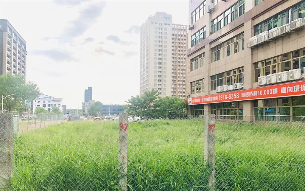經國重劃區水汴頭37地號以總價2.91億元標出。(圖/台灣房屋提供)