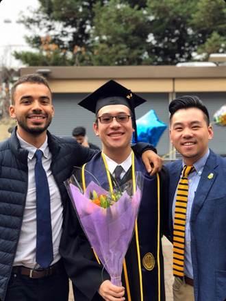 建中畢業生周愷揚創紀錄 加州大學柏克萊分校首位畢業致詞台生
