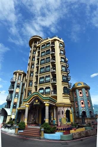 企業家熱愛旅遊 七星潭旁自建歐風旅店