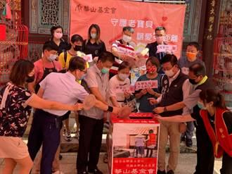 台南善化店家踴躍響應華山零錢捐 邀民眾順手行善助公益