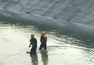 男子兩度衝嘉南大圳 消防人員上午發現落水男遺體