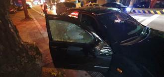 國道尬車持槍轟情侶 槍手落網起出2把手槍與子彈