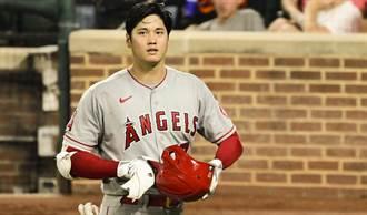 MLB》大谷翔平慘烈一戰 投4局挨3轟打擊苦吞3K