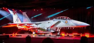 卡達空軍F-15QA戰機正式亮相 取名小神鳥