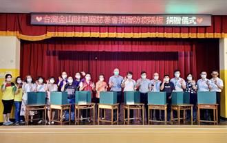 慈善會捐贈環保防疫隔板 助校園防疫嘉惠1800名學生