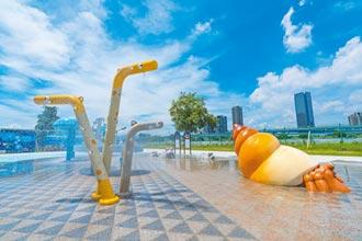新北打造親水遊戲場 河濱公園亮點多