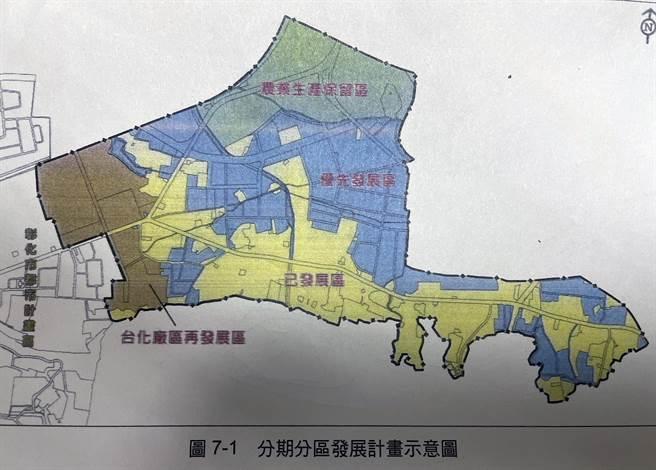彰化市東區擴大都市計畫被期待是發展契機,但卡關13年 ,彰縣府改採分期分區策略提報。(彰化縣政府提供/吳敏菁彰化傳真)