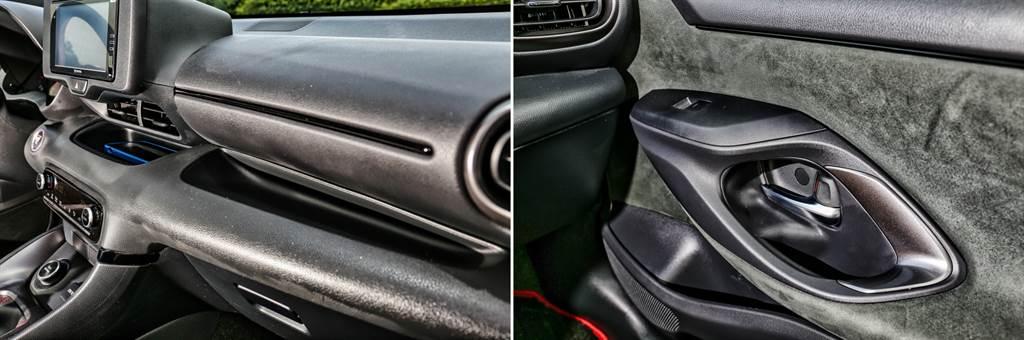 車室質感普通,不過設有許多開放式的置物空間,日常實用性不差。(圖/陳彥文攝)