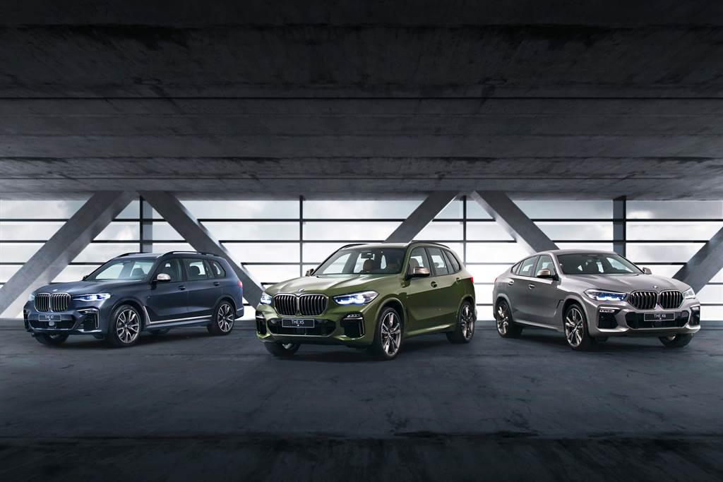 全新BMW X5 M50i  X6 M50i Individual Edition與BMW X7 M50i霸氣登場。(圖/業者提供)