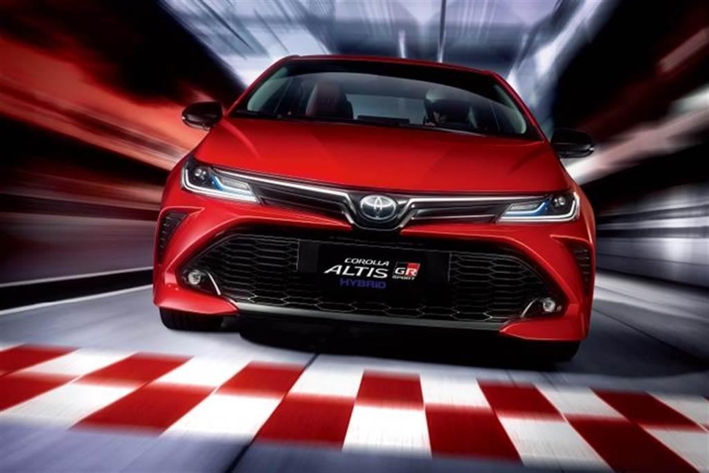 預計將與Corolla Altis GR Sport一樣,不僅內外觀做出運動化妝點,底盤也將有所強化。(圖/Toyota提供)