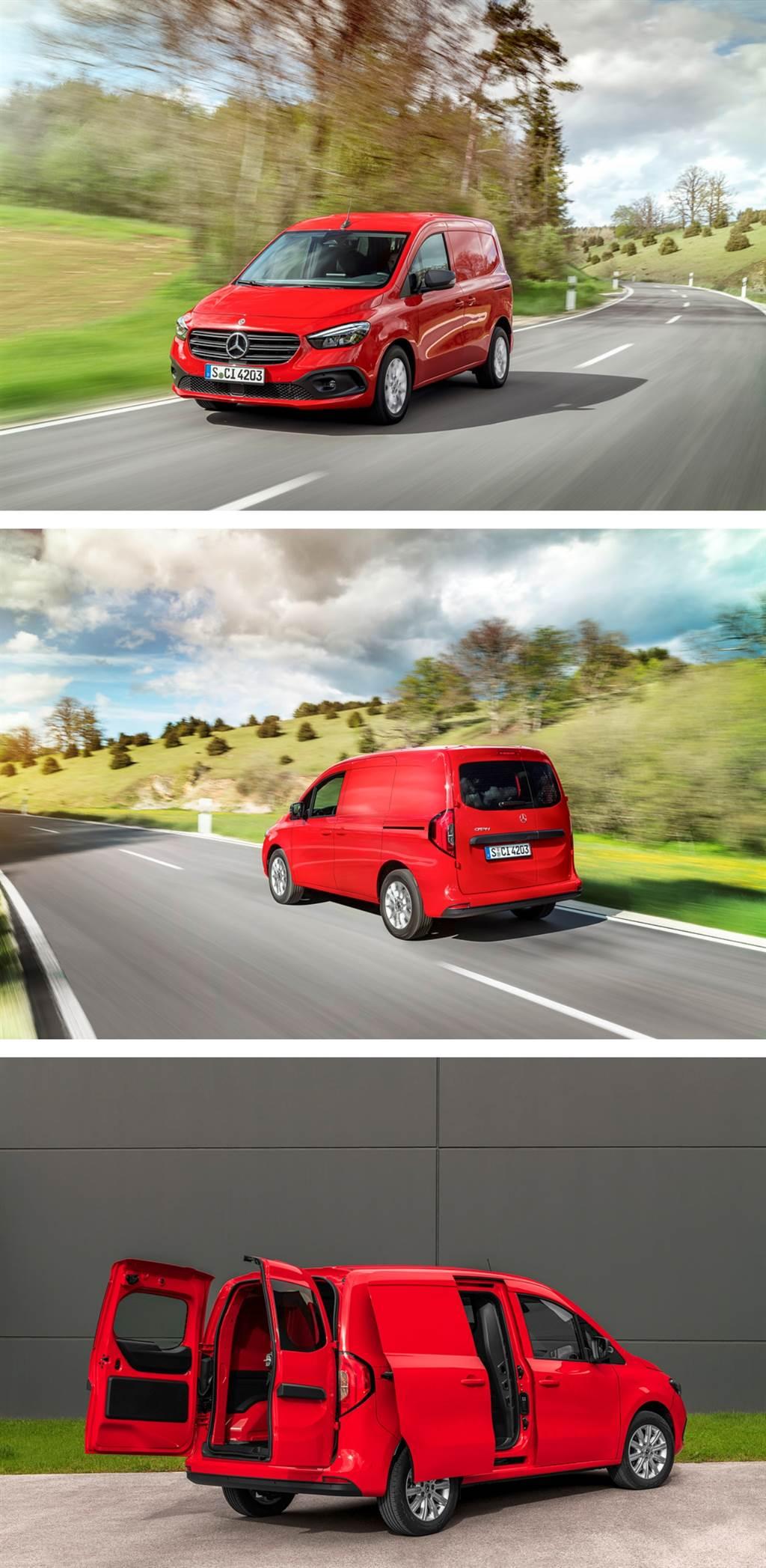 德法聯手 Mercedes-Benz大改款Citan/eCitan輕型商車發表(圖/CarStuff)