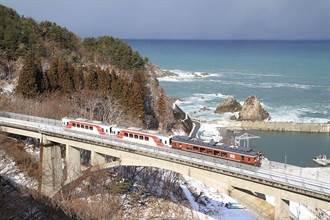 搭乘日本最美濱海列車「三陸鐵道」擁抱海天一色岩手藍