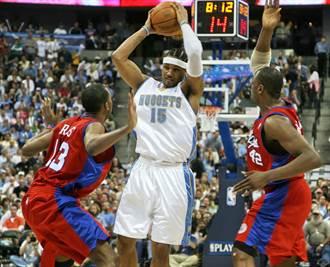 NBA》再翻陳年舊帳 安森尼:當初是金塊逼我離開