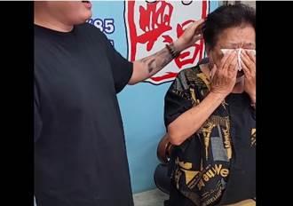 網紅阿嬤直播哭了 為「客家太太藥水泡大腸」道歉