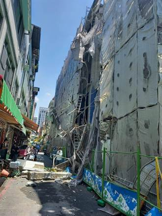 高雄今日戲院三度倒塌 工地包商遭勒令停工