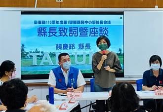 台東縣2022年起 提高全國性賽事膳雜費及住宿費用