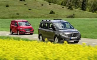 德法聯手 Mercedes-Benz大改款Citan/eCitan輕型商車發表