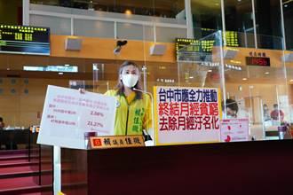 議員籲校園普設衛生棉自動販賣機 盧秀燕:支持