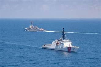 國防部證實 美國雙艦通過台海