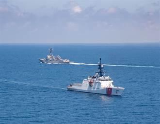 美軍艦通過台灣海峽 今年第8次