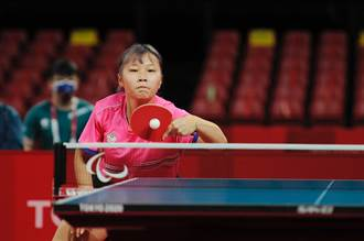 東京帕運》無緣桌球女單金牌戰 田曉雯奪銅摘本屆首面獎牌