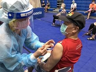 金門再開設大型接種站 1485人今接種第2劑AZ