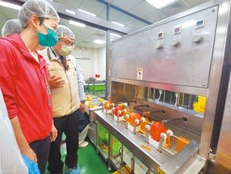 全台首間 台南芒果初級加工場啟用